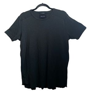 WINGS + HORNS OLIVE GREEN T SHIRT